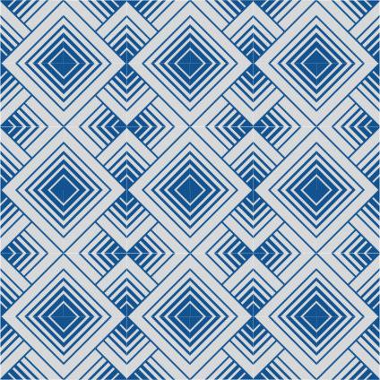 zementfliesen geomet weiss blau modern fliesen. Black Bedroom Furniture Sets. Home Design Ideas