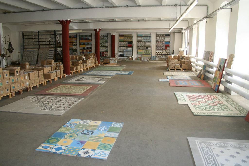 Fußboden Fliesen Grün ~ Zementfliesen patchwork grün blau gelb 906 bodenfliesen fliesen