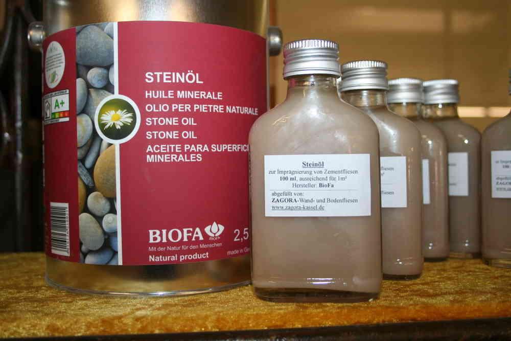 Fußboden Fliesen Imprägnieren ~ Biofa steinöl l imprägnierung wand und bodenfliesen