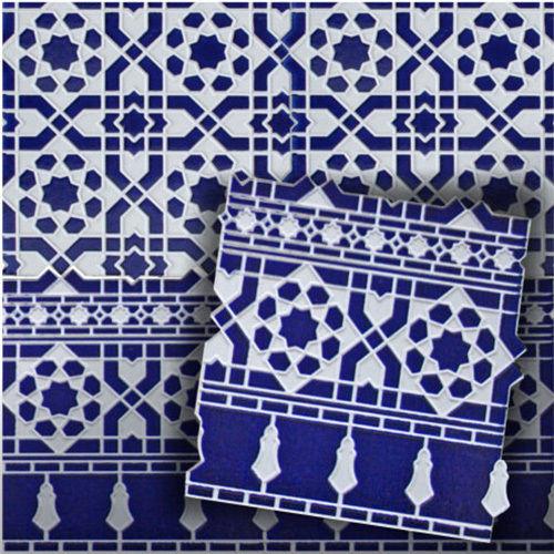 Wandfliesen Mosaikfliesen Im Spanischen Maurischen Stil Bunt - Andalusische fliesen