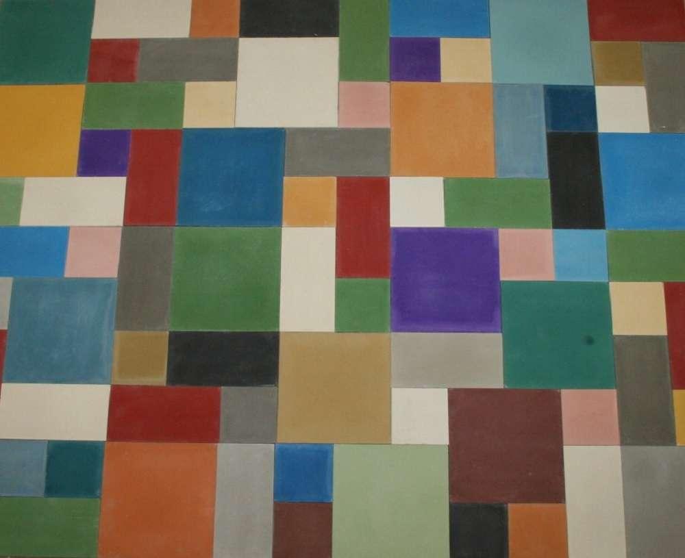 Fußboden Fliesen Farbe ~ Zementfliesen form und farbe patchwork uni bodenfliesen