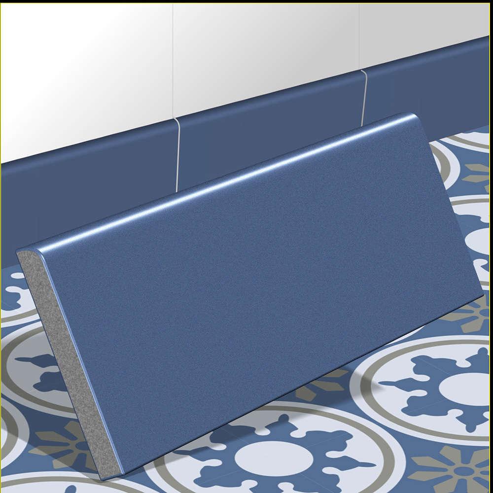 Taubenblau Wand zementfliesen sockel sockelleiste blau taubenblau sockel