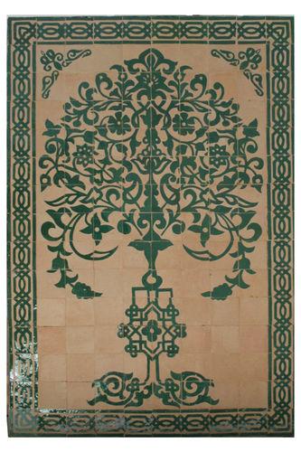 Mosaik wandmosaik brunnen arabisch orientalisch marokkanisch - Wandbild orientalisch ...