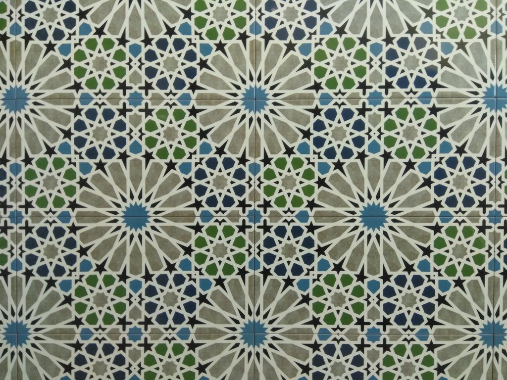 maurische Wandfliese Marrakesch spanische Kacheln bunt Fliesen