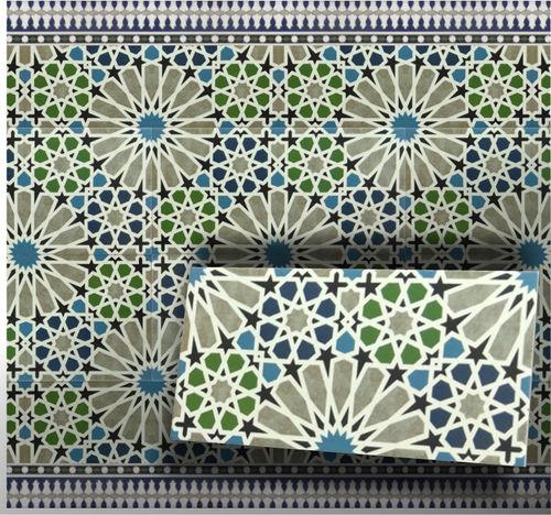 Maurische Wandfliese Marrakesch